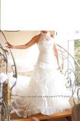 Свадебное платье Pronovias - La Sposa, цвет айвори, рост 175-180 см