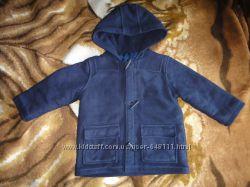 Синее пальто Marks&Spencer 2-3 года