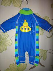Плавки и пляжные костюмы на мальчика 0-9 мес