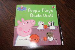 Peppa Pig новые книги на английском для деток Свинка Пеппа