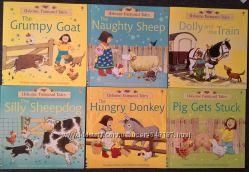 Farmyard Tales от Usborne, новые книги на английском для детей