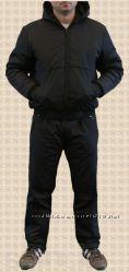 Мужской зимний костюм на синтепоне с капюшоном