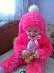 Новогодний, карнавальный костюм зайчика для девочки в наличии