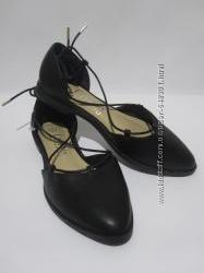 Хитовые туфельки со шнуровкой Lilley, размер 6-39