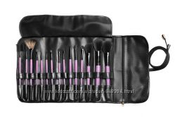 BHcosmetics 15 pcs Wild Purple Makeup Brush Set.
