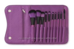 BHcosmetics 10 pc Orchid , Watermelon  Makeup Brush Set.
