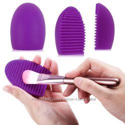 Яйцо очиститель для кистей BrushEgg, цвет фиолетовый