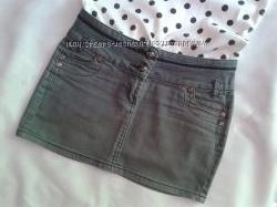 Джинсовая мини юбка OGGI