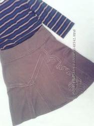 Джинсовая юбка Promod, состояние новой вещи