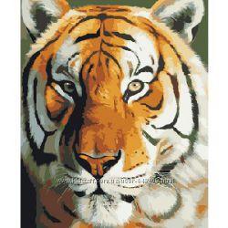 Алмазная мозаика вышивка Тигр