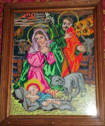 икона Рождение Иисуса в яслях