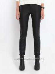 Модные черные брюки кожа Top Secret S M