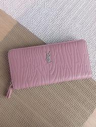 Стильный кошелёк клатч с ремешком 2 цвета