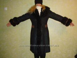 Дубленка женская в украинском стиле