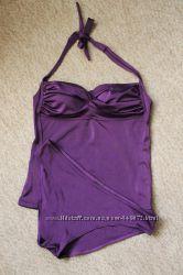 Купальник танкини, превосходное качество, насыщенного фиолетового цвета