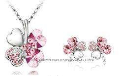 Комплекты с австрийскими кристаллами