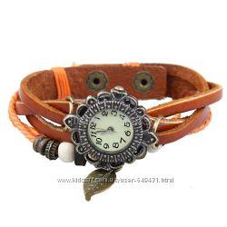 Оригинальные часы в винтажном стиле. В наличии