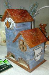 Чайный домик  Чай с булочкой