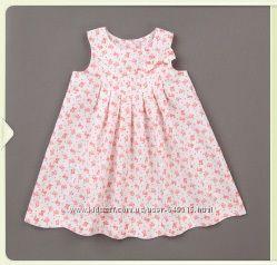 Летнее цветочное платье для девочки
