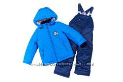 Стеганный комплект куртка и комбинезон для мальчика
