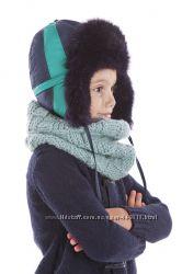 Синяя зимняя шапка для мальчика