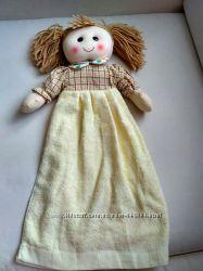 Новое детское полотенце кукла
