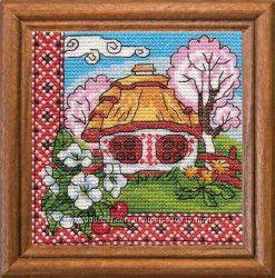 Набор для вышивки крестом 01294 Квiтуче Подiлля