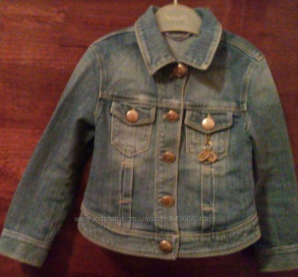 курточка джинсовая Gas на 116-118 см