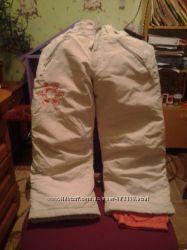 Зимние лыжные штаны Тополино, 122 см.