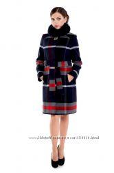 Пальто зимнее натур мех