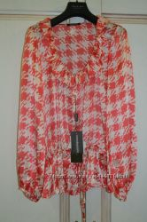 Шелковая блуза Roccobarocco