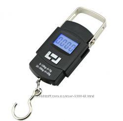 Весы электронные кантер до 50кг 5г с батарейкам