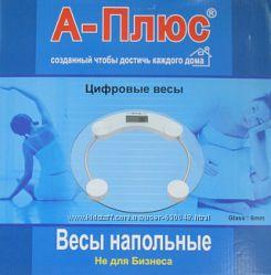 Напольные электронные весы А-Плюс до 180 кг