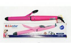 Плойка электрощипцы для волос Livstar LSU-1522 с керамической рабочей повер