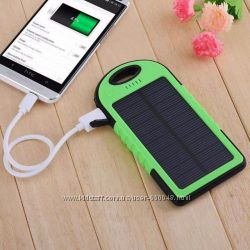Повер банк Power Bank A50 solar power  фонарик 10800mAh