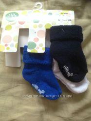 Нові махрові шкарпетки Little Me