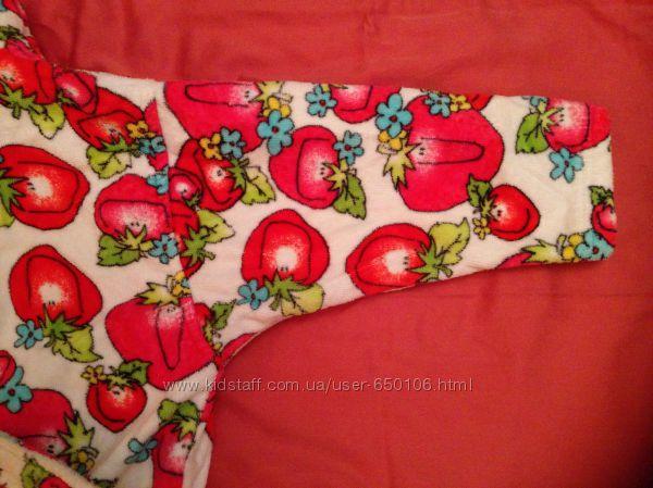 Махровий халат для дівчинки