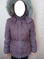 качественная куртка на пуху в новом состоянии, р М UK12