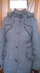 шерстяное утепленное пальто Orsay 50-52 размер