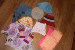 Шапка, берет, шарф, перчатки - целый набор