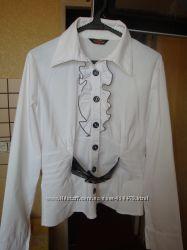 блуза, рубашка белая