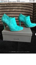 Ботильоны брэнда Minelli 40 размера красивого мятного цвета