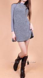 Вязаное платье-кольчуга Италия
