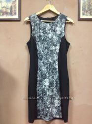 Стильное платье со вставкой Mango Испания