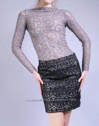 Теплая кружевная юбка Италия Франция 2 модели