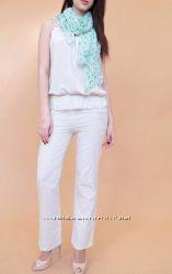 Летние льняные брюки 2 модели