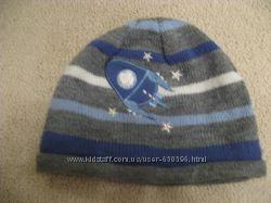 Красивая стильная шапка на 3-4г Англия на 46-48см