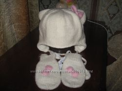 шапка с рукавицами