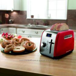 Тостер KitchenAid KMT222 ER  Digital 2-Slice Toasters цвет Empire Red Изящн