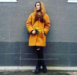 Шикарное пальто ЗИМА В новогодний подарок ХОМУТ